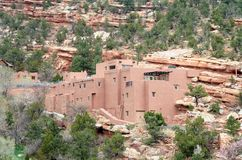 A casa do povoado indígeno imagem de stock royalty free