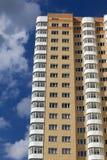 Casa do prédio de apartamentos Foto de Stock Royalty Free