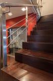 Casa do rubi - escadaria foto de stock royalty free