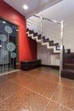 Casa do rubi - escadas bonitas fotos de stock royalty free