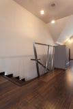 Casa do rubi - escadas originais foto de stock