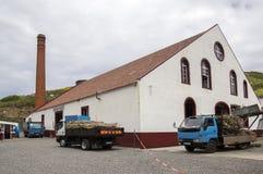 Casa do rum, Porto da Cruz, Madeira / PORTUGAL - April 19, 2017: Rum factory and museum are one of touristic attraction. Casa do rum, Porto da Cruz, Madeira / stock photos