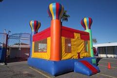 Casa do salto de uma distância Imagem de Stock Royalty Free