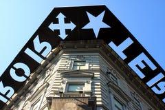Casa do terror em Budapest Fotografia de Stock