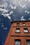 Casa do tijolo Imagem de Stock