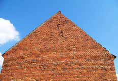 Casa do tijolo Foto de Stock Royalty Free