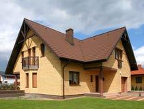 Casa do tijolo Foto de Stock