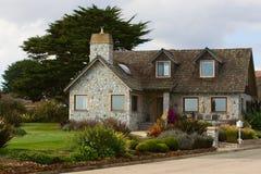 Casa do tijolo Fotos de Stock Royalty Free