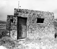 Casa do tijolo de BW Fotos de Stock