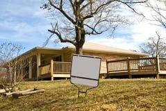 Casa do tijolo para a venda/aluguel Imagens de Stock