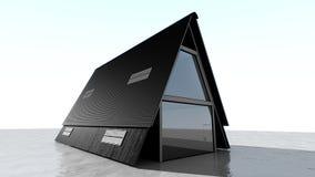 Casa do triângulo Imagens de Stock