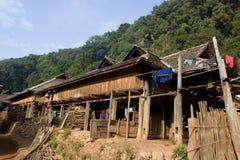 Casa do tribo do monte Fotografia de Stock