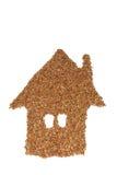 Casa do trigo mourisco Foto de Stock Royalty Free