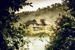 Casa do vale Imagem de Stock