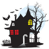 Casa do vampiro ilustração do vetor