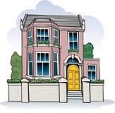 Casa do Victorian ilustração do vetor