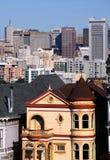 Casa do Victorian em San Francisco fotografia de stock royalty free