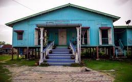 Casa do vintage da madeira Imagem de Stock