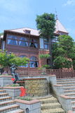Casa do Weathercock em Ijinkan Kitano Kobe Japan Imagem de Stock Royalty Free