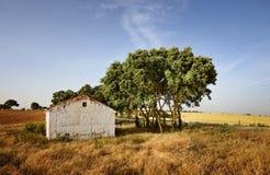Casa do whit da paisagem Fotografia de Stock