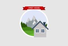 Casa doce Imagem de Stock