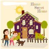 Casa doce home Fotografia de Stock