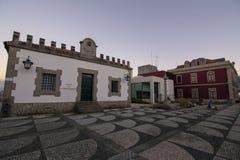 Casa doet conhecemento in het centrum van Paredes DE Coura in Norte stock afbeeldingen