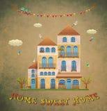 Casa dolce casa illustrazione vettoriale