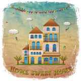 Casa dolce casa illustrazione di stock