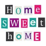 Casa dolce casa. Fotografia Stock Libera da Diritti