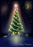 Casa dolce dell'albero di Natale Immagine Stock Libera da Diritti