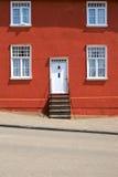 Casa doméstica tradicionalmente pintada em Lavenham, Suffolk Foto de Stock Royalty Free