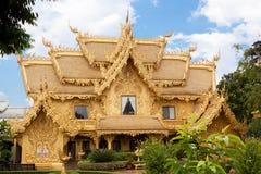 Casa dorata Fotografia Stock Libera da Diritti