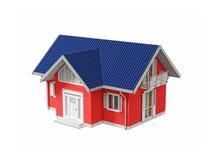 Casa dos bens imobiliários Imagens de Stock Royalty Free