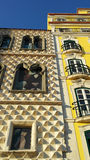 Casa dos Bicos, Lisbon, Portugal Royalty Free Stock Photography