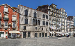 Casa dos Bicos - Lisbon Stock Image