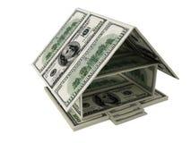 Casa dos dólares Imagens de Stock