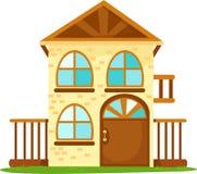 Casa dos desenhos animados Imagem de Stock Royalty Free
