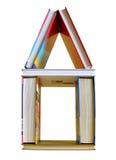 Casa dos livros Fotografia de Stock Royalty Free