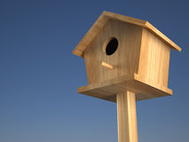Casa dos pássaros Fotos de Stock