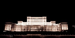 Casa dos povos Romania Fotografia de Stock Royalty Free