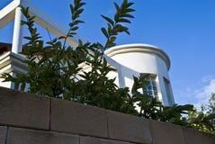Casa e céu Foto de Stock Royalty Free
