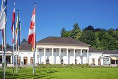 Casa e casinò della stazione termale in Baden-Baden Fotografia Stock Libera da Diritti
