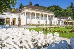 Casa e casinò della stazione termale in Baden-Baden Fotografia Stock