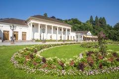 Casa e casinò della stazione termale in Baden-Baden Immagine Stock Libera da Diritti