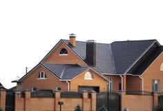 Casa e cerca Fotos de Stock Royalty Free