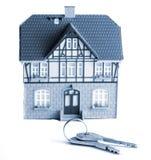 Casa e chaves Fotografia de Stock