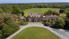 Casa e jardins de Wells Wexford ireland imagens de stock royalty free