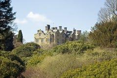 Casa e jardins do solar do castelo de Scotney Fotos de Stock