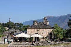 Casa e mesquita de pedra velhas Ioannina de Aslan Pasha Imagem de Stock Royalty Free